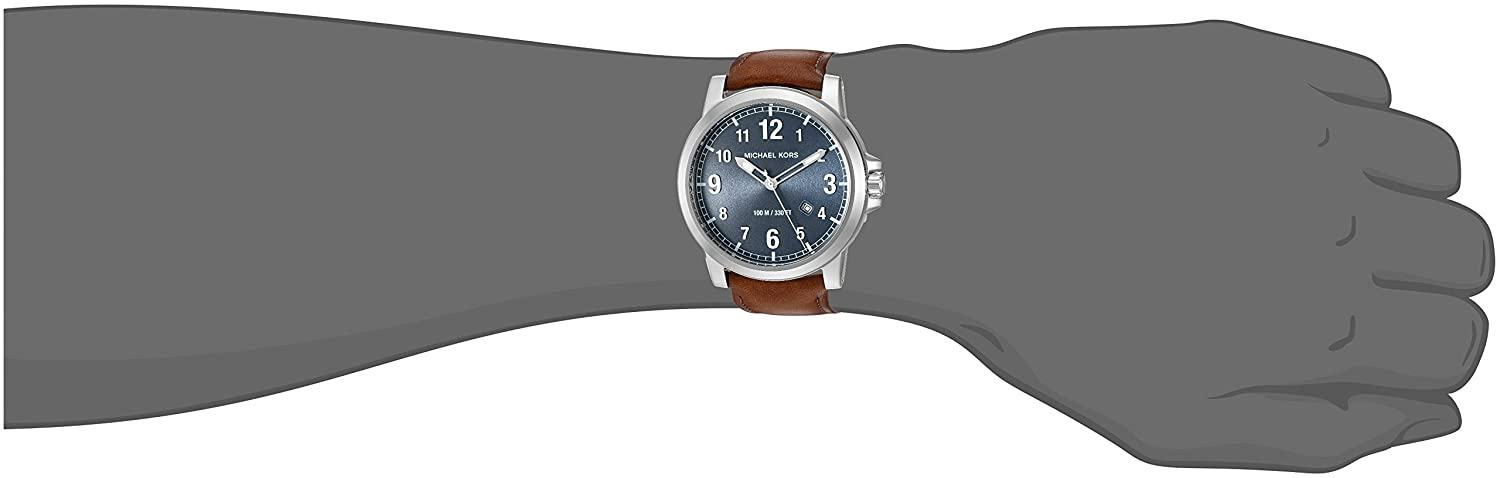 87d0091b0f85 Amazon.com  Michael Kors Men s Paxton Brown stainless steel-Tone Watch  MK8501  Watches