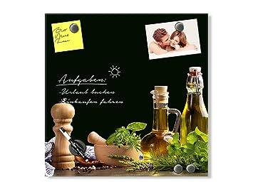Magnettafel Küche | Grazdesign 502033 50x50 Gl Mw Glas Magnettafel Fur Kuche Memoboard