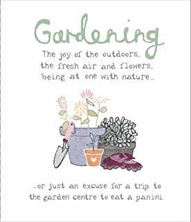 Humorous Birthday Card UKG347961 Gardening The Joy Of Outdoors