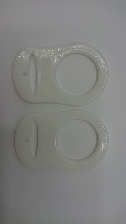 100/% sans BPA adaptateur 1 pour t/étines Bague en silicone porte-t/étines pour cha/înes en silicone souple