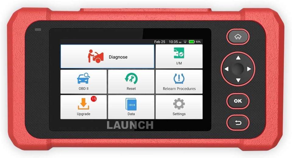 """Launch Tech USA 301050455 - Millennium Master 5"""" Touchscreen OBD II Scan Tool…"""