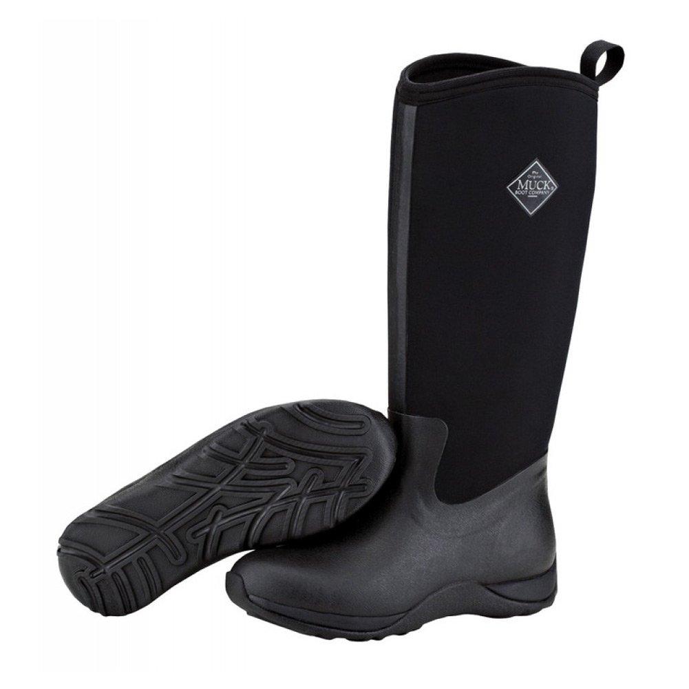 MuckBoots Women's Arctic Adventure Tall Snow Boot, Black/Black,8 M US