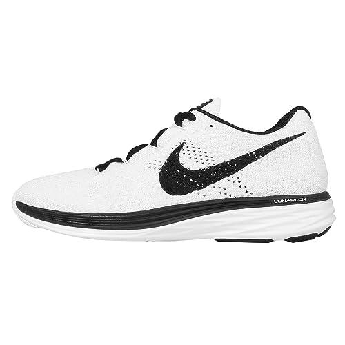 competitive price f55b0 2f5f1 Nike Women s WMNS Flyknit Lunar3 Running Shoes, Blau (Sail Black), 4.5