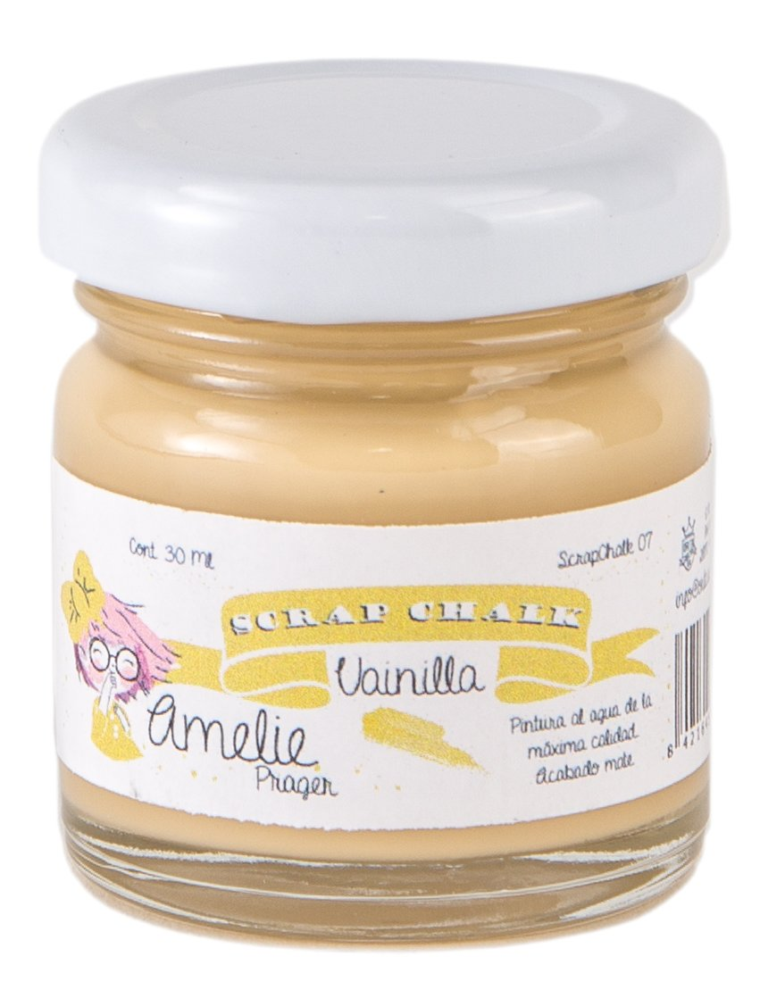 Amelie Prager AMC-07 Pintura a la Tiza, Vainilla, 30 ml