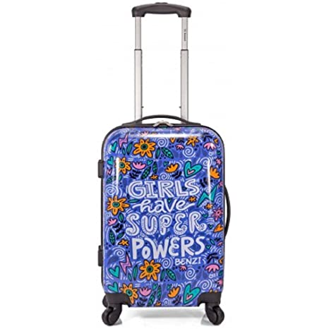 Maleta Cabina Estampada Girls Have Super Power Especial compañias Low Cost - 55x36x20cm