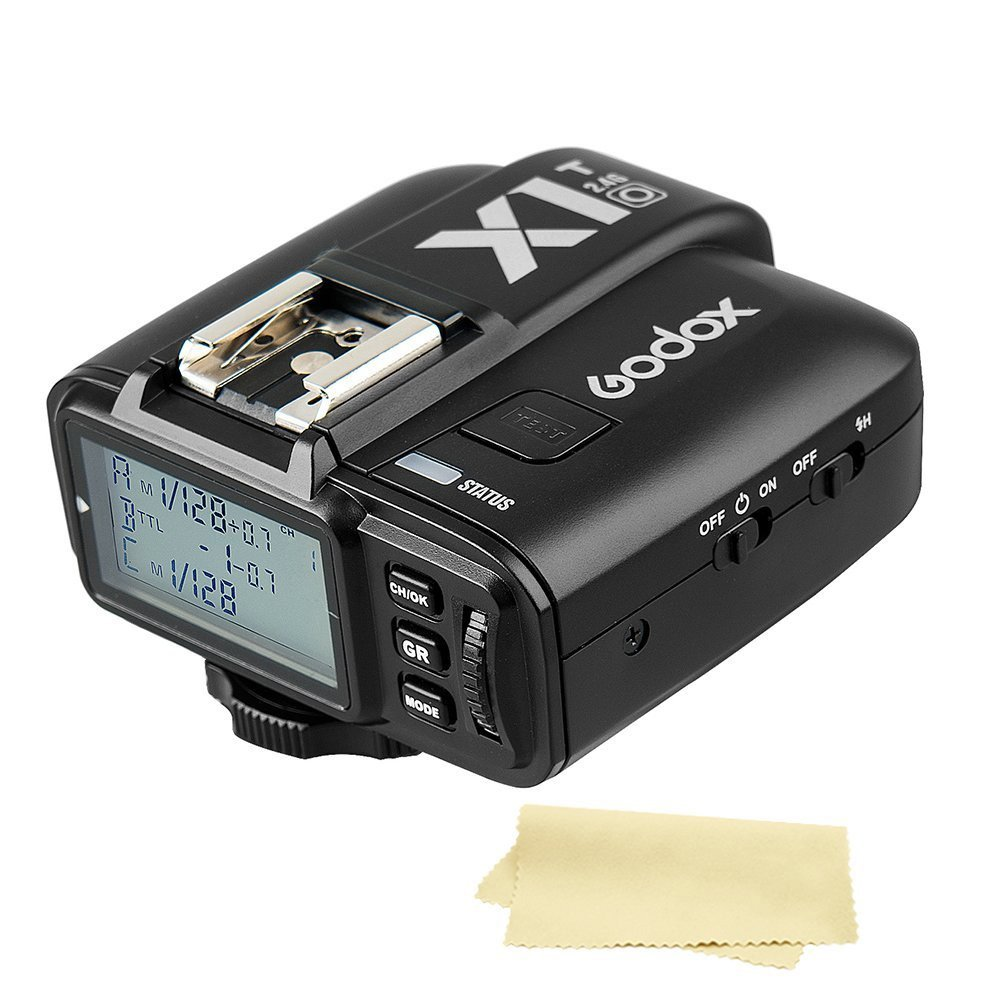 Godox X1T-O TTL High-Speed Sync 1/8000s 32 Channels 2.4G Wireless Flash Trigger Transmitter compatible for Olympus Panasonic cameras by Godox