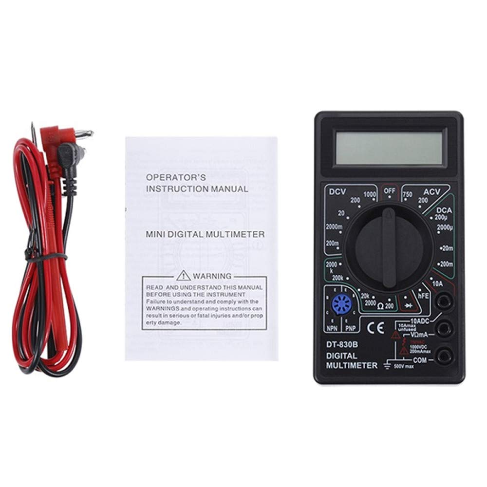 Superb 2 Color Lcd Digital Multimeter Ac Dc 750 1000V Digital Mini Wiring 101 Taclepimsautoservicenl