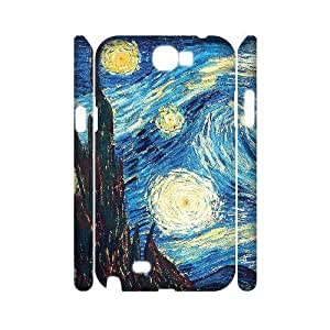 GGMMXO Van Gogh Shell Phone Case For Samsung Galaxy Note 2 N7100 [Pattern-1] Kimberly Kurzendoerfer