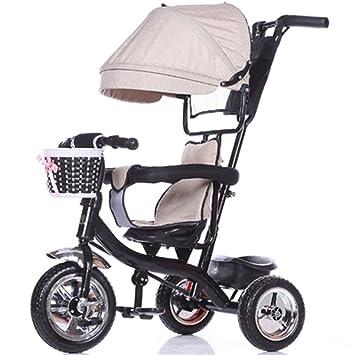 Bicicleta para niños Niño de interior al aire libre Pequeño triciclo bicicleta Niño de bicicleta de