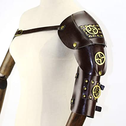 Amazon.com: YUKILO Gothic Steampunk Adjustable Arm Strap ...