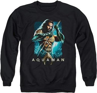 Aquaman Sign Adult Crewneck Sweatshirt
