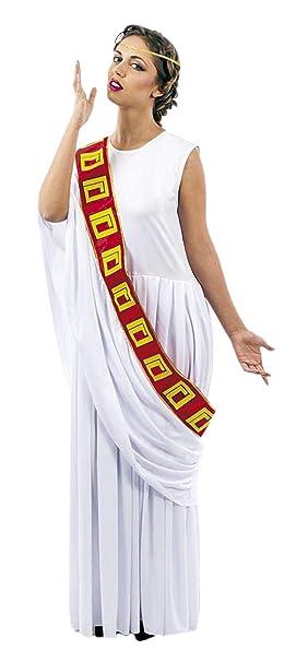 atelier bro s.l.u. Disfraz Senadora Romana Cinta Roja Mujer (XL ...