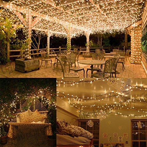 200 LED Solar Power Fairy String Light Garden Xmas Party Outdoor Lamp Warm White (Bff Halloween Costume Ideas)