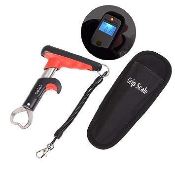 ShopSquare64 Leo - Báscula electrónica de Pesca (15 kg, Acero Inoxidable): Amazon.es: Deportes y aire libre