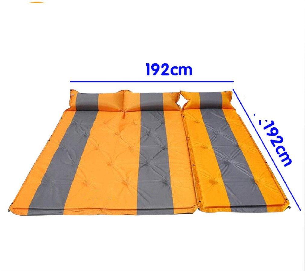 YOPEEN Automatische aufblasbare Kissen, Outdoor-Zelt Isomatte, Matratze, Tragbare Gepolsterte Feuchtigkeitsmatte, Wilde Doppelte Bodenmatte Isomatte, C