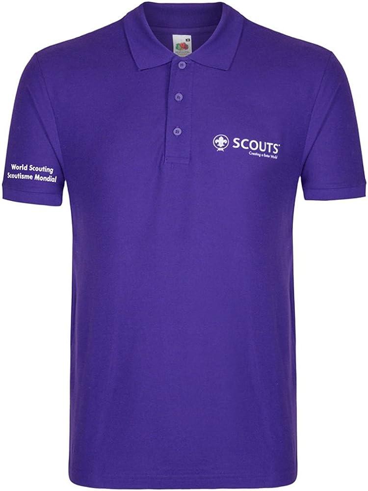 World Scout Polo para Hombre (para Scouts, exploradores, Líderes ...