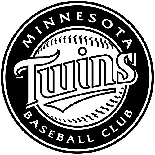 Baseball Fans Poster Sporting Housewares Interior Decoration Minnesota Twins Logo Vinyl Sticker MLB Wall Art Decal Major League Team Symbol Gift Mural Sportive Poster Athletic Stencil Sports Design