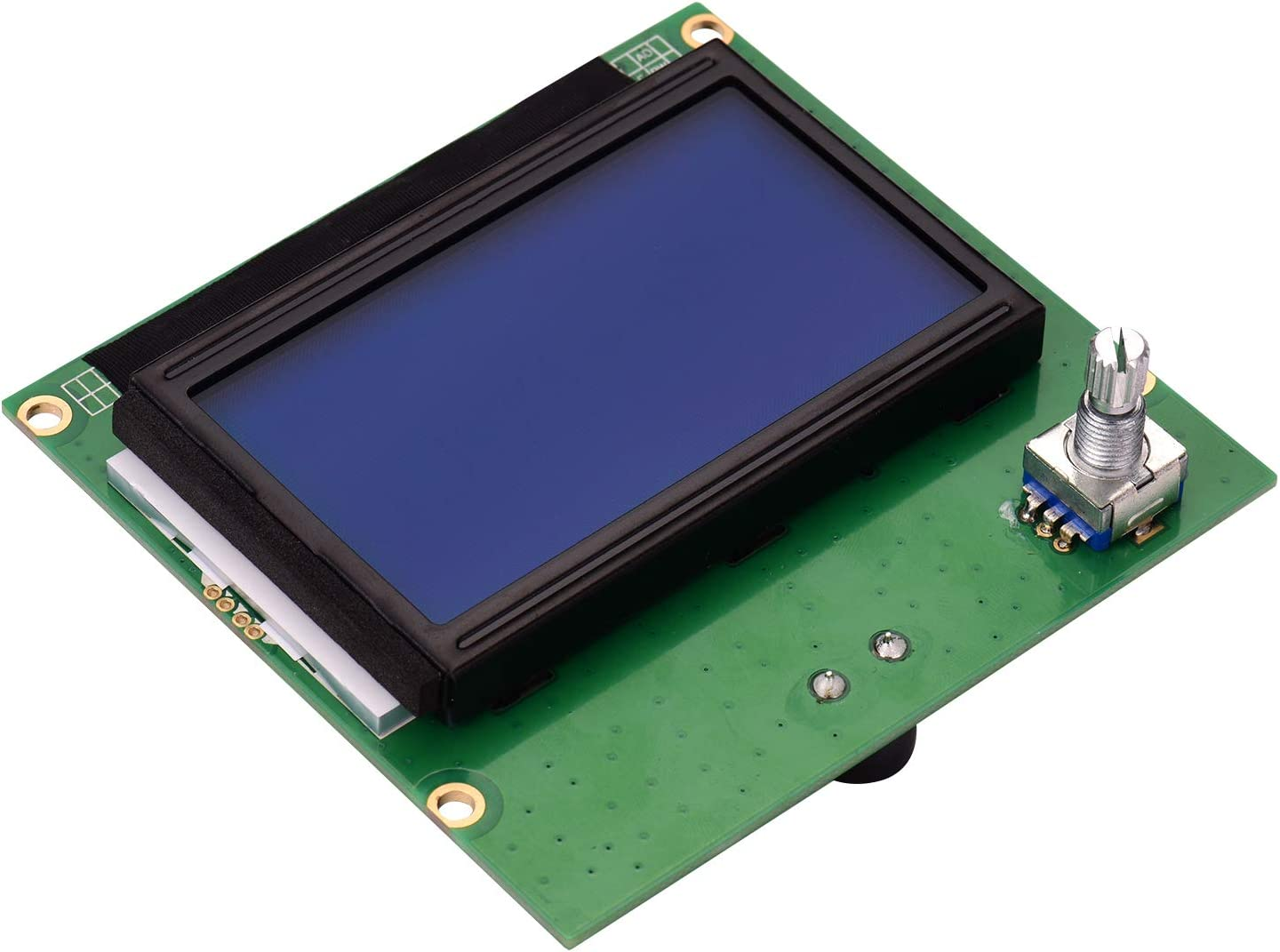 for creality cr-10,Tickas 3D Printer Parts 12864 LCD Display Screen with Cable Replacement for Creality CR-10 CR-10S S4 S5 3 3D Printer