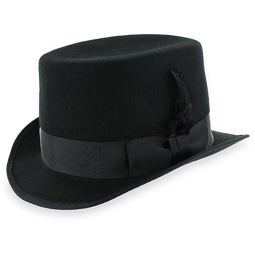 Belfry Crushable Top Hat Soft Men s 100% Wool Felt in Black at Amazon Men s  Clothing store  257d192ef9d4