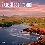 Coastline of Ireland 2018 12 x 12 Inch Monthly Square Wall Calendar, Travel Nature Ocean Cliffs Celtic (Multilingual Edition)