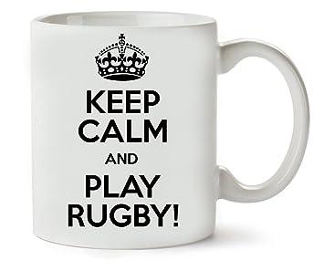 Keep Classique Thé Play Mugsworld De Rugby Café Tasse Calm iTuPkZXO