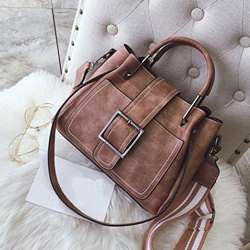 Corssbody Handbags Bag Women Luggage Beach Bag with Shoulder Bags Shoulder Stylish Bag Leather Ladies Retro Travel Pink Women's for Bag Tote Handbags Messenger Vintage Bags Hand SHYwz