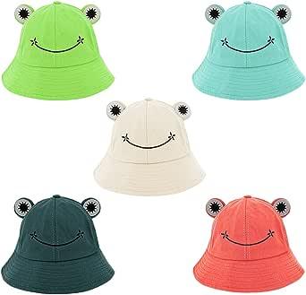 Haoohu Adults Cotton Bucket Hat Tie Dye Hat Fishing Fisherman Beach Festival Sun Hat