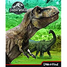 Jurassic World Look and Find Book