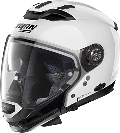 Nolan Herren N70 2 Gt Classic N Com Metal White M Helmet Weiß M Auto