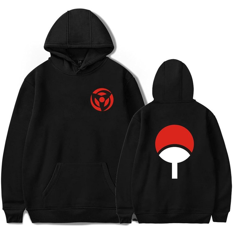 SERAPHY BTS Hoodies Naruto Sweatshirts Uchiha Syaringan