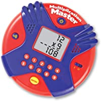 Learning Resources Multiplication Master Electronic Flash Card, Multicolor