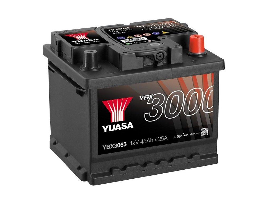 Yuasa YBX3063 SMF Starter Battery GS Yuasa