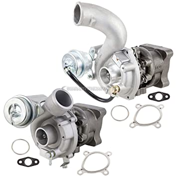Par Nuevo Turbo Kit w/Premium Calidad Turbocompresores & Juntas para Audi S4 A6 2