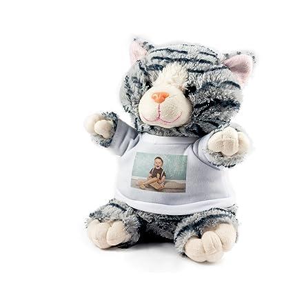 Peluches Personalizados con Foto - Gato