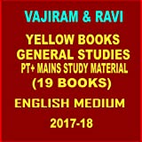 VAJIRAM AND RAVI STUDY MATERIAL FOR IAS -19 BOOKLETS PRINTOUT QUALITY 2017-18