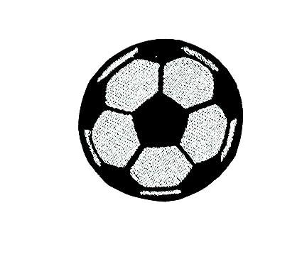 patch ecusson brode applique ballon de foot football thermocollant a coudre - Ecusson De Foot
