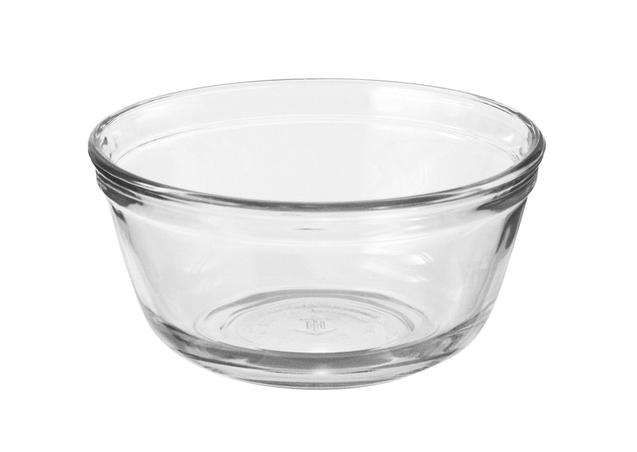 Anchor Hocking Glass Food Prep and Mixing Bowls, 1.5 Quart (Set of 6) 81574L11