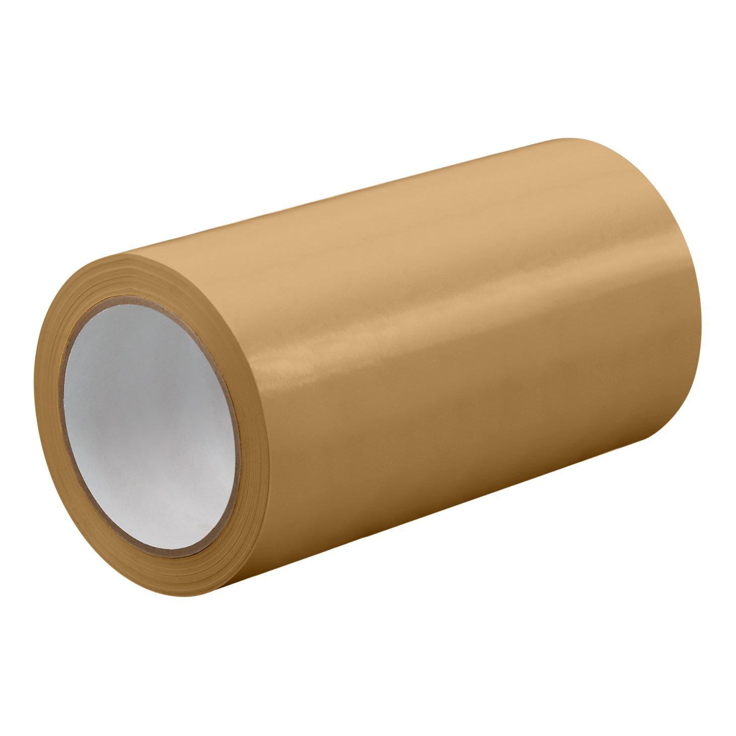 TapeCase TC414-0.125' X 72YD - ORANGE Orange UPVC/Rubber Adhesive Film Tape, 0.0023' Thick, 72 yd. Length, 0.125' Width, 1 Roll 0.0023 Thick 0.125 Width TC414-0.125 X 72YD - ORANGE
