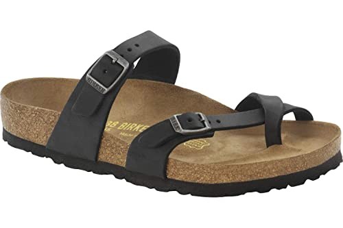 d6ab40faed0 Birkenstock Womens Mayari Oiled Leather Thong Sandals  Amazon.co.uk ...