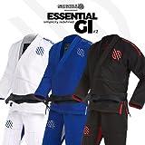 Sanabul Essentials v.2 Ultra Light BJJ Jiu Jitsu Gi with Preshrunk Fabric