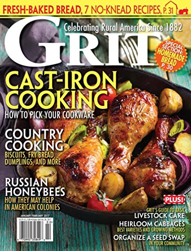 GRIT: Cast-Iron Cooking by Damaris Cameron