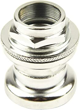 NEW CHROME LOCK NUT FOR BICYCLE HEADSET 22.2MM