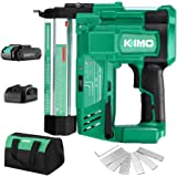 KIMO 20V 18 Gauge Cordless Brad Nailer/Stapler, 2 in 1 Cordless Nail/Staple Gun w/Lithium-Ion Battery&Fast Charger, 18GA…