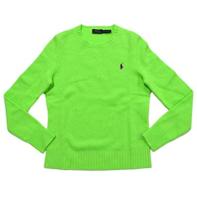 db23d85b6 Image Unavailable. Image not available for. Color  RALPH LAUREN Polo Womens  Crew Neck Wool Cashmere Sweater ...