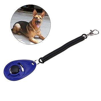 UEETEK Clickers del entrenamiento del perro con las correas de la muñeca y los botones, Clicker del entrenamiento para los gatos del perro de animal ...