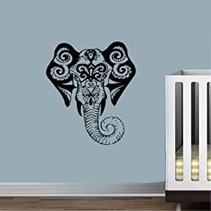 vinilos marinos animales Elefante modelo indio Signo Om ...