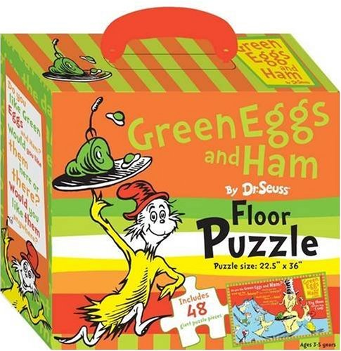 Green Eggs and Ham Floor Puzzle