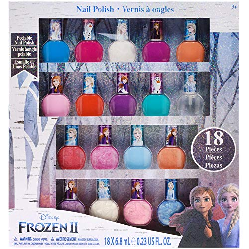 Townley Girl Frozen Non-Toxic 18 Piece Peel Off Nail Polish Set from Townley Girl