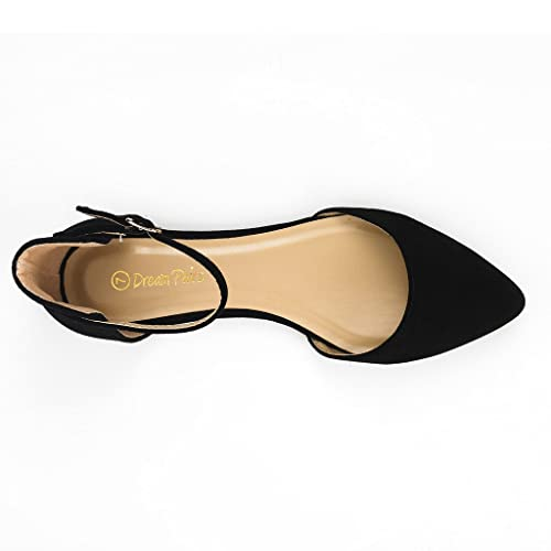 Women's Casual D'Orsay Pointed Plain Ballet Comfort Soft Slip On Flats New Shoes