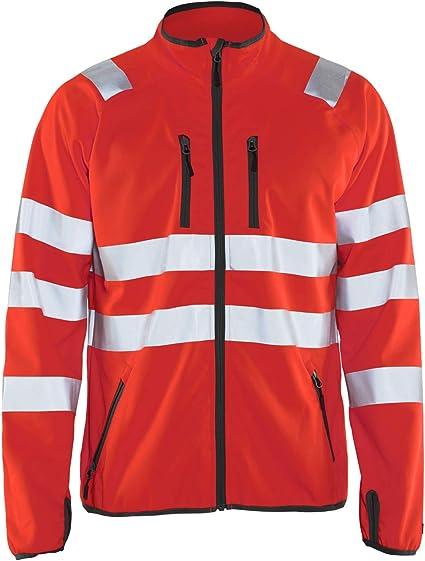 Blaklader Workwear Shell Jacket Black//Red L